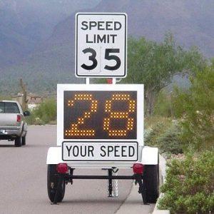 Speed Awareness Radar Trailers