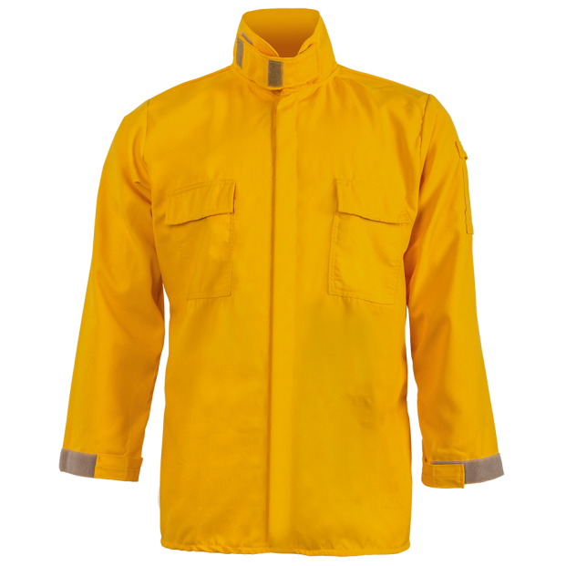 Crew Boss Brush Shirt – 5 8 oz Tecasafe Yellow | Lakota Inc