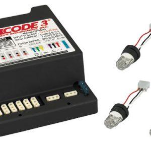 Code 3 2100 Series LED Low Profile Lightbar | Lakota Inc Code Narrowstick Module Wiring Diagram on